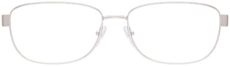 prescription-glasses-model-Prada-VPS-52L-Silver-Green-FRONT