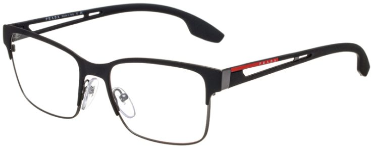 prescription-glasses-model-Prada-VPS-55I-Matte-Black-45