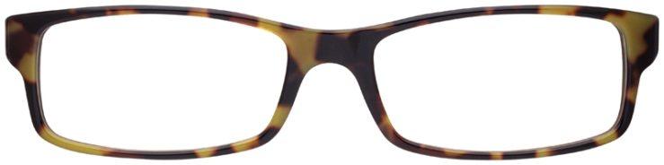 prescription-glasses-model-Ray-Ban-RB5114-Green-Tortoise-FRONT