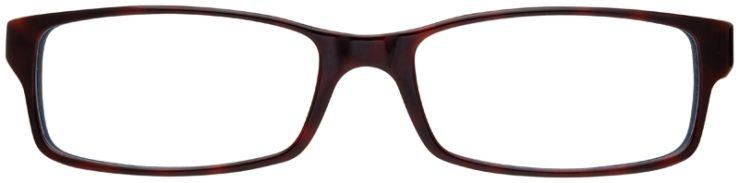 prescription-glasses-model-Ray-Ban-RB5114-Red-Tortoise-FRONT