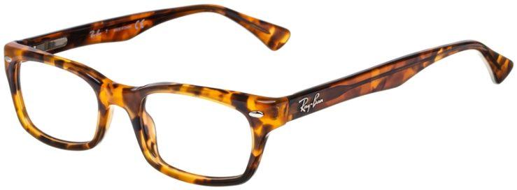 prescription-glasses-model-Ray-Ban-RB5150-Havana-Tortoise-45