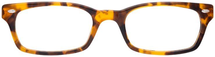prescription-glasses-model-Ray-Ban-RB5150-Havana-Tortoise-FRONT