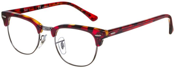 prescription-glasses-model-Ray-Ban-RB5154-Red-Havana-45