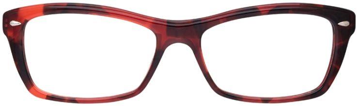 prescription-glasses-model-Ray-Ban-RB5255-Pink-Tortoise-FRONT