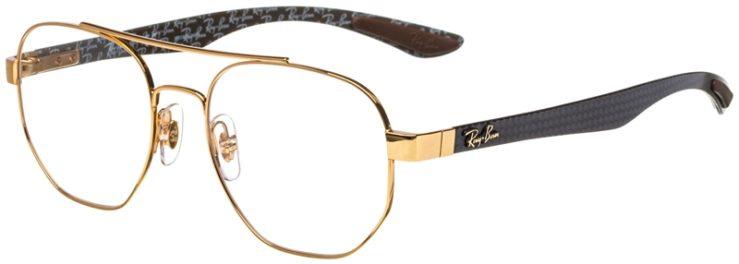 prescription-glasses-model-Ray-Ban-RB8418-Gold-45