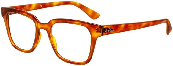 prescription-glasses-model-Ray-Ban-RX4323V-clear-brown-45