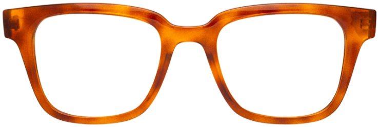 prescription-glasses-model-Ray-Ban-RX4323V-clear-brown-FRONT