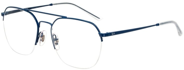 prescription-glasses-model-Ray-Ban-RX6444-blue-45