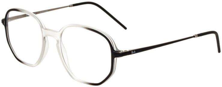 prescription-glasses-model-Ray-Ban-RX7152-black-clear-45
