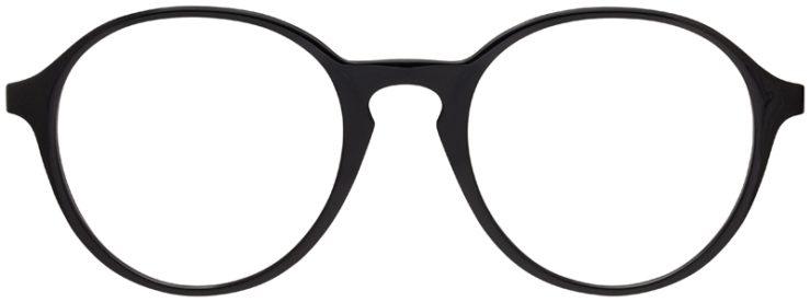 prescription-glasses-model-Ray-Ban-RX7173-Black-FRONT