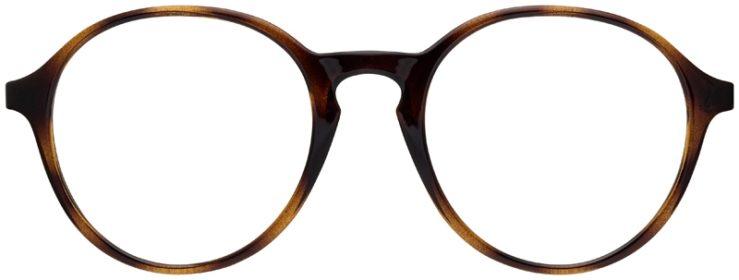 prescription-glasses-model-Ray-Ban-RX7173-tortoise-FRONT