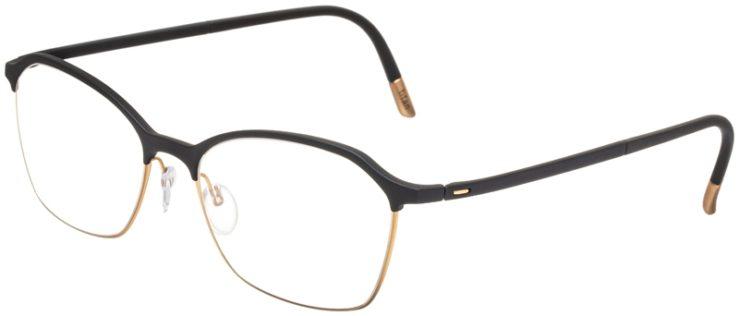 prescription-glasses-model-Silhouette-Urban-Fusion-SPX-1581-Matte-Black-Gold-45