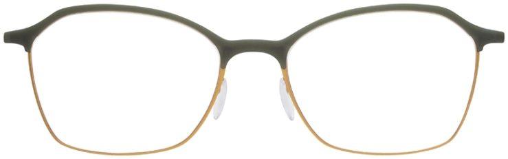 prescription-glasses-model-Silhouette-Urban-Fusion-SPX-1581-Slate-Green-FRONT