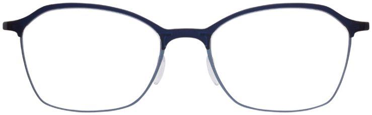 prescription-glasses-model-Silhouette-Urban-Fusion-SPX-1581-Velvet-Blue-FRONT