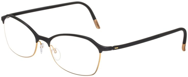 prescription-glasses-model-Silhouette-Urban-Fusion-SPX-1582-Matte-Black-Gold-45