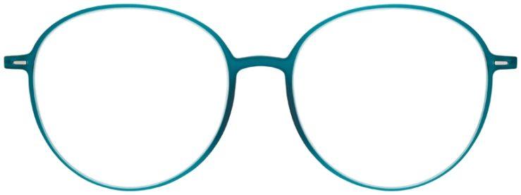 prescription-glasses-model-Silhouette-Urban-Neo-Aqua-Blue-FRONT
