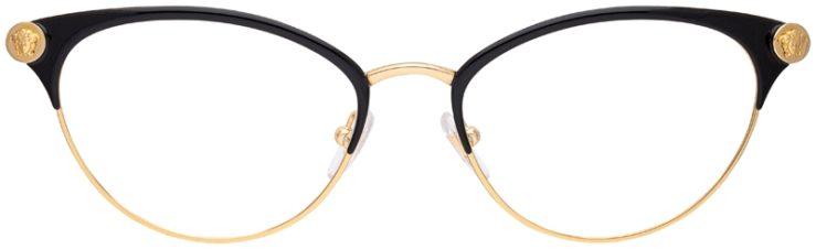 prescription-glasses-model-Versace-VE1259Q-Black-FRONT