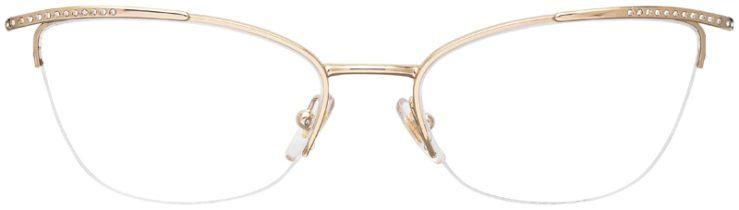 prescription-glasses-model-Versace-VE1261B-Gold-FRONT