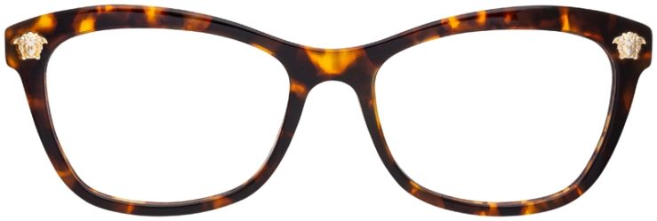 prescription-glasses-model-Versace-VE3224-Tortoise-FRONT