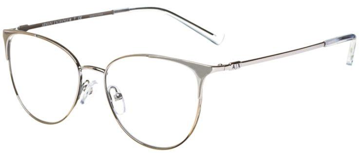 prescription-glasses-model-Armani-Exchange-AX1034-Silver-45