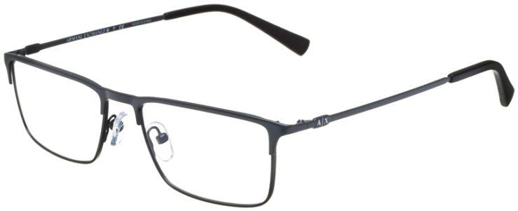 prescription-glasses-model-Armani-Exchange-AX1035-Matte-Grey-45