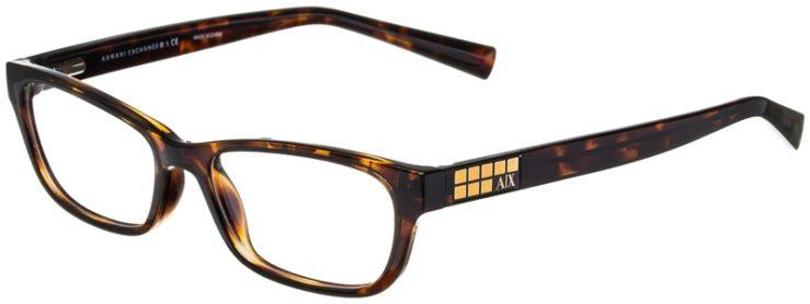prescription-glasses-model-Armani-Exchange-AX3008-Tortoise-45