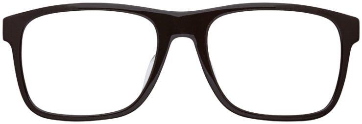 prescription-glasses-model-Armani-Exchange-AX3025F-Brown-FRONT