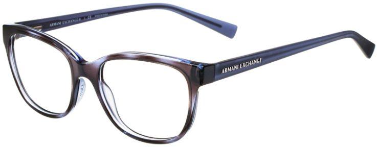 prescription-glasses-model-Armani-Exchange-AX3037-Clear-Blue-45