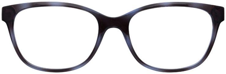 prescription-glasses-model-Armani-Exchange-AX3037-Clear-Blue-FRONT
