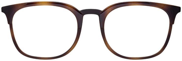 prescription-glasses-model-Armani-Exchange-AX3065-Tortoise-FRONT