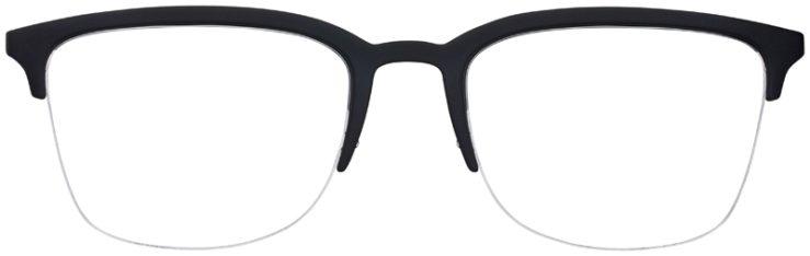 prescription-glasses-model-Armani-Exchange-AX3066-Matte-Black-Red-FRONT