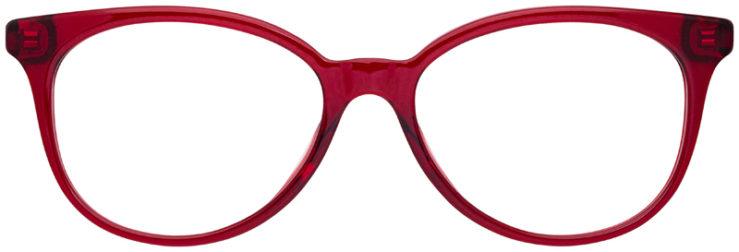 prescription-glasses-model-Coach-HC6138U-Clear-Red-FRONT