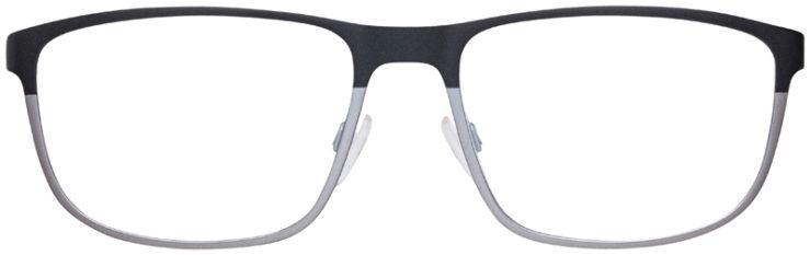 prescription-glasses-model-Emporio-Armani-EA1071-Matte-Black-Silver-FRONT