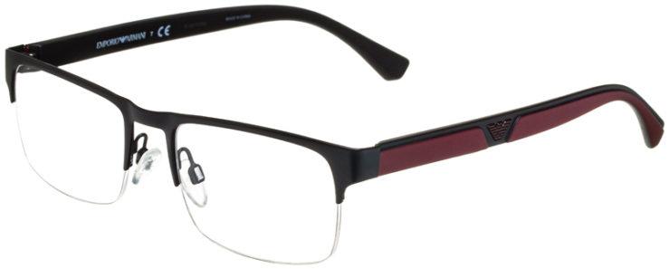 prescription-glasses-model-Emporio-Armani-EA1072-Matte-Black-45