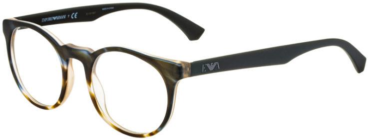 prescription-glasses-model-Emporio-Armani-EA3156-Green-Gradient-Tan-45