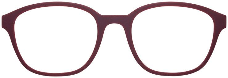 prescription-glasses-model-Emporio-Armani-EA3158-Matte-Burgundy-FRONT