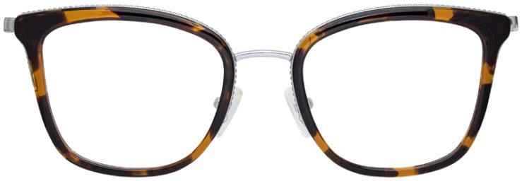 prescription-glasses-model-Michael-Kors-MK3032-Havana-Tortoise-FRONT