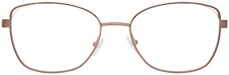 prescription-glasses-model-Michael-Kors-MK3043-Gold-FRONT