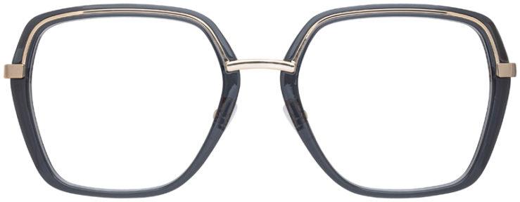 prescription-glasses-model-Michael-Kors-MK3045-Clear-Blue-Gold-FRONT