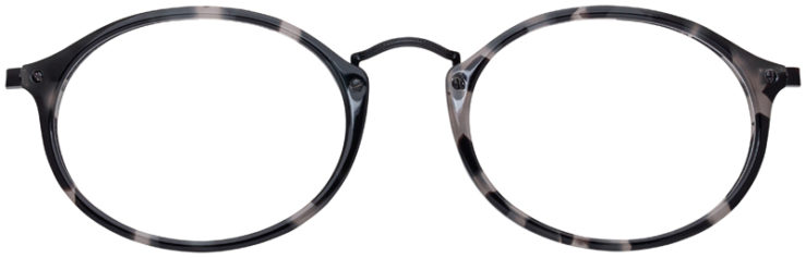 prescription-glasses-model-Ray-Ban-RB2547V-Grey-Tortoise-FRONT