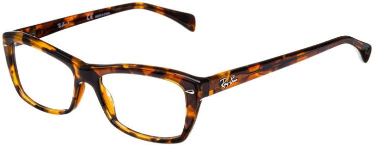 prescription-glasses-model-Ray-Ban-RB5255-Havana-Tortoise-45