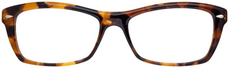 prescription-glasses-model-Ray-Ban-RB5255-Havana-Tortoise-FRONT