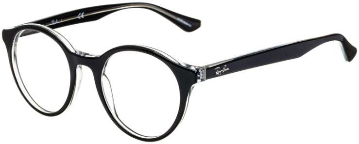prescription-glasses-model-Ray-Ban-RB5361-Black-Clear-45