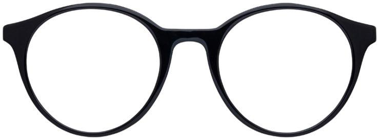 prescription-glasses-model-Ray-Ban-RB5361-Black-Clear-FRONT