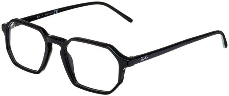 prescription-glasses-model-Ray-Ban-RB5370-Black-45