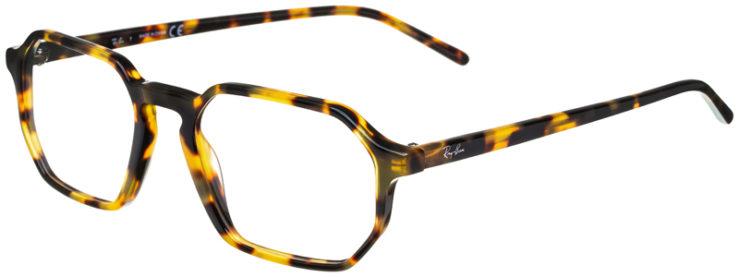 prescription-glasses-model-Ray-Ban-RB5370-Yellow-Havana-45
