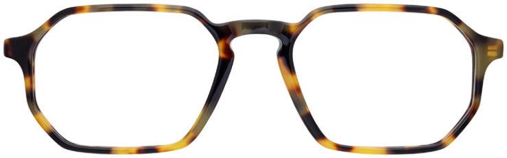 prescription-glasses-model-Ray-Ban-RB5370-Yellow-Havana-FRONT