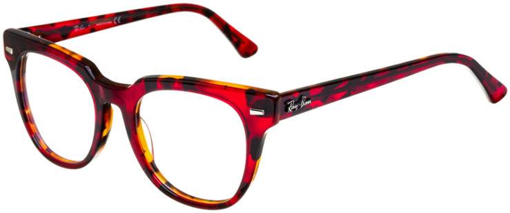 prescription-glasses-model-Ray-Ban-RB5377-Red-Havana-Tortoise-45