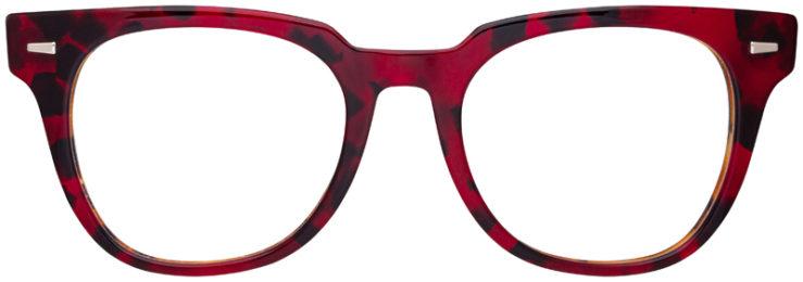prescription-glasses-model-Ray-Ban-RB5377-Red-Havana-Tortoise-FRONT