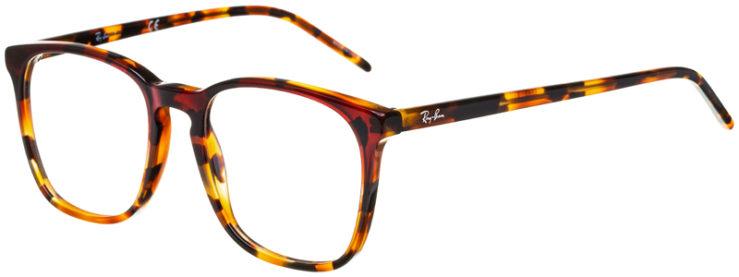 prescription-glasses-model-Ray-Ban-RB5387-Havana-Tortoise-45